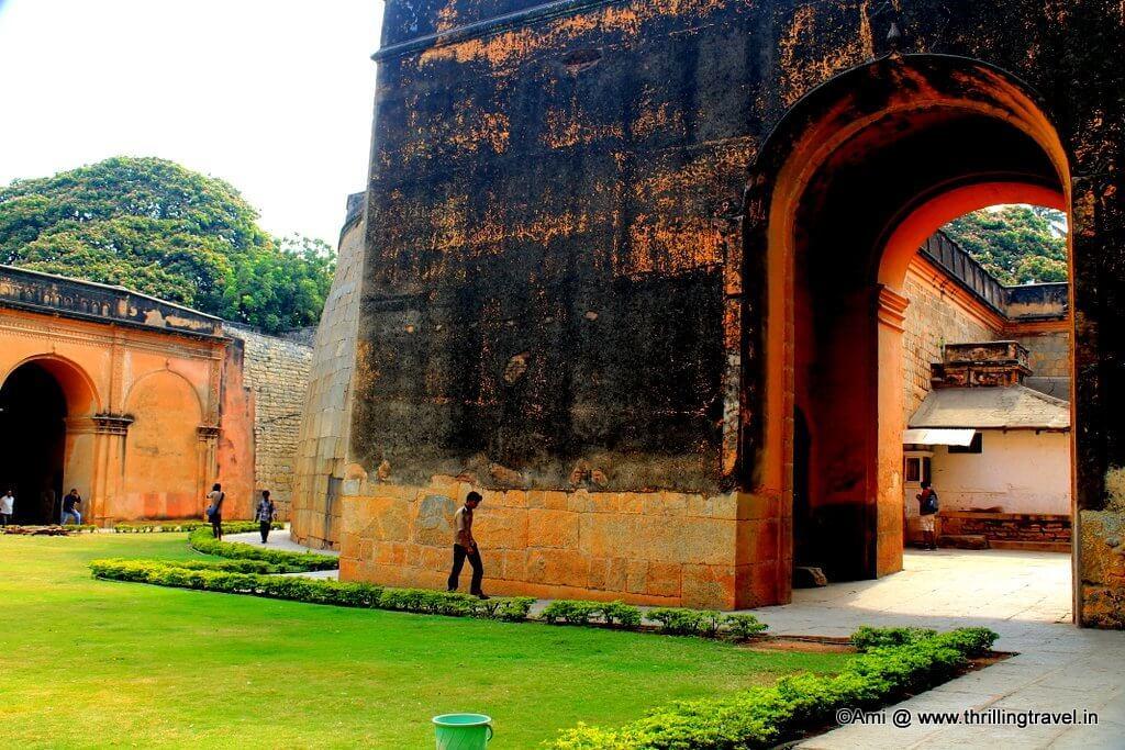The royal enclosure of the Bangalore Fort, Bengaluru