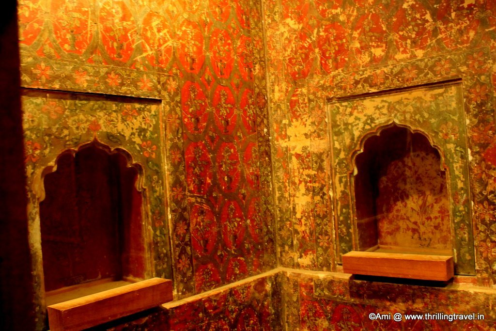 Within the rooms of the Summer Palace of Tipu Sultan, Bengaluru