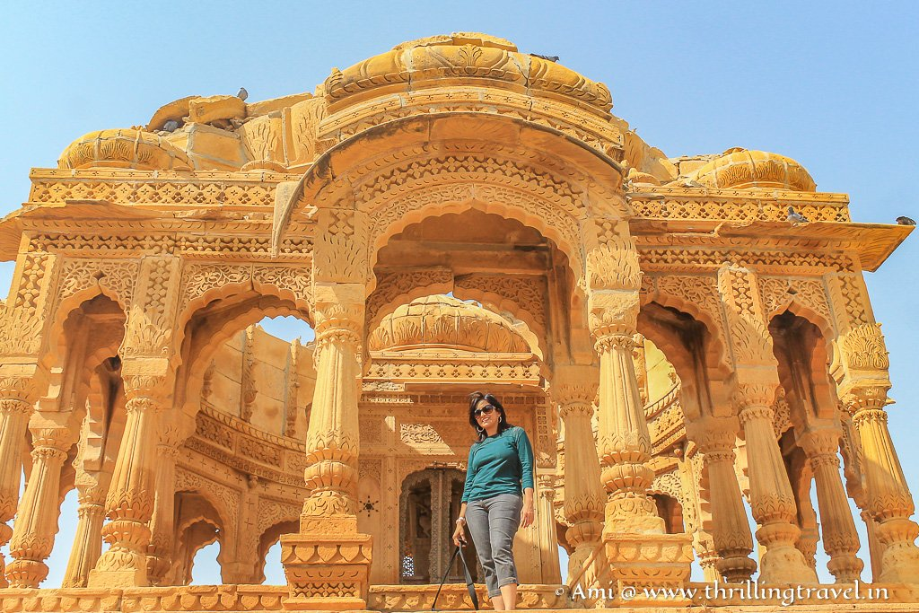 The grandiose of the individual Jaisalmer Cenotaph belies the importance of the person