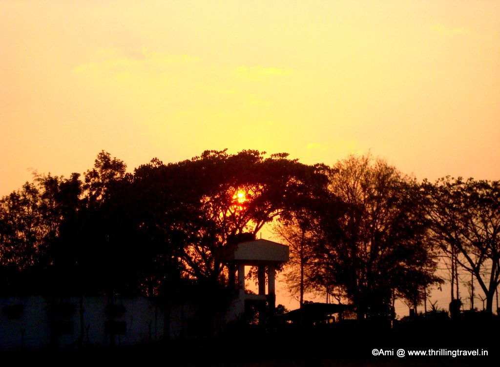 Sunset at Kabini