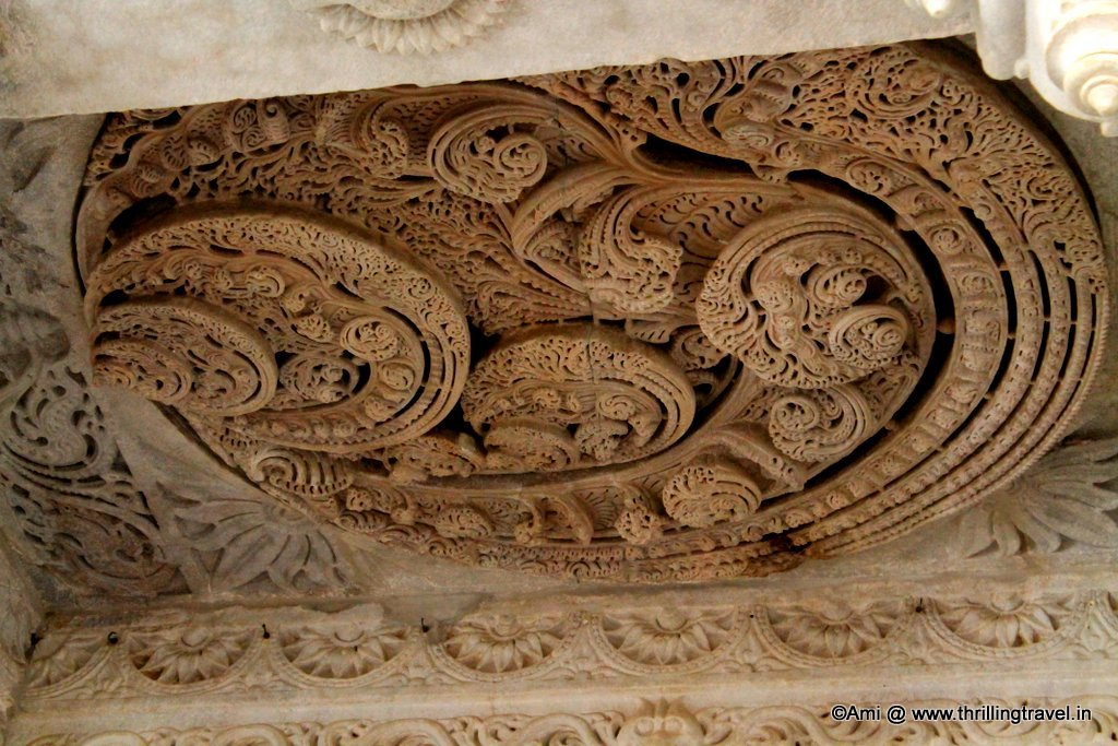 Ceiling at Ranakpur Jain Temple