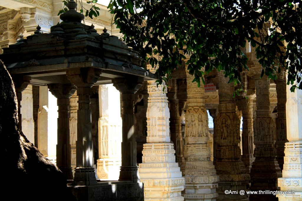 Inside the Ranakpur Jain Temple