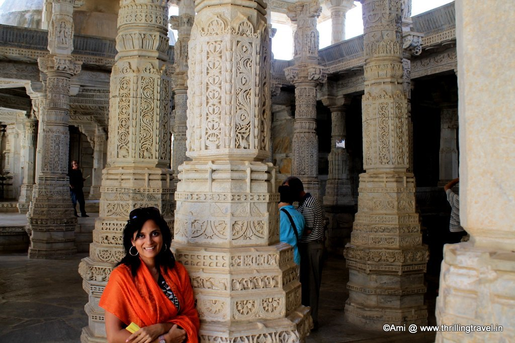 Pillars at Ranakpur Jain Temple
