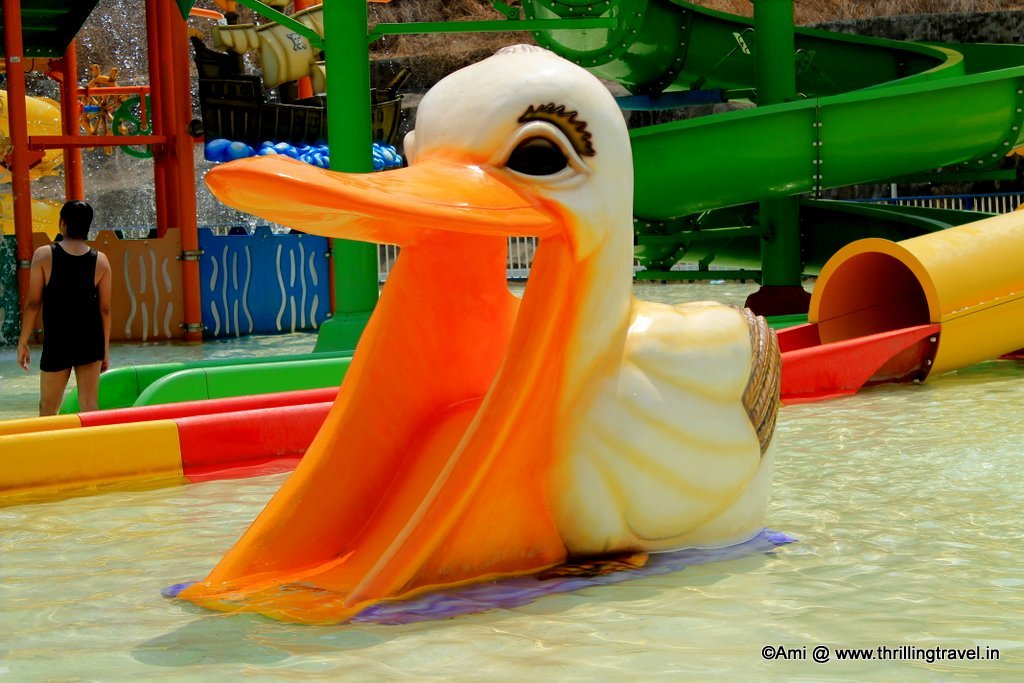 Toddler slide at Adlabs Aquamagica
