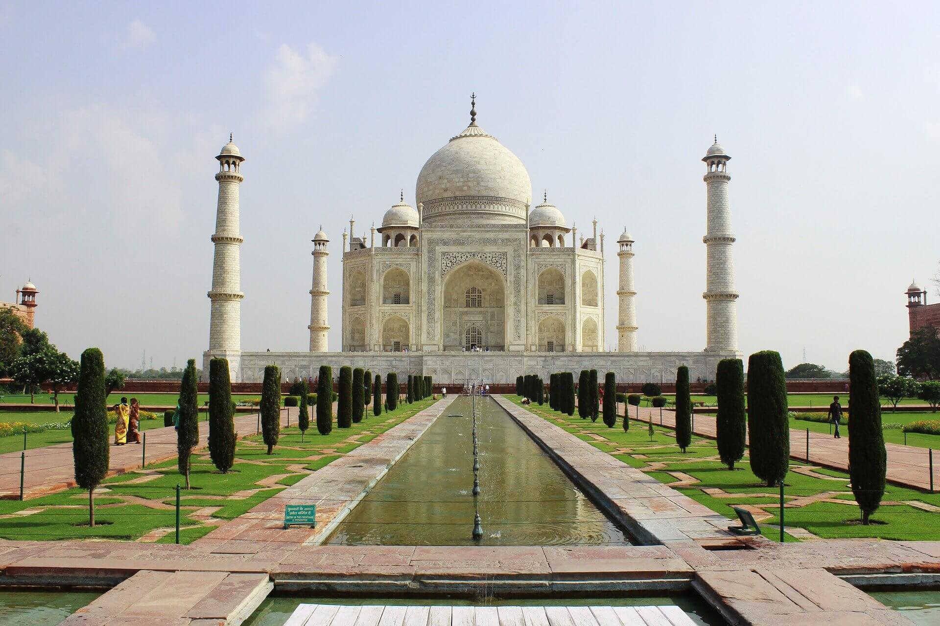 Travel to India -Taj Mahal
