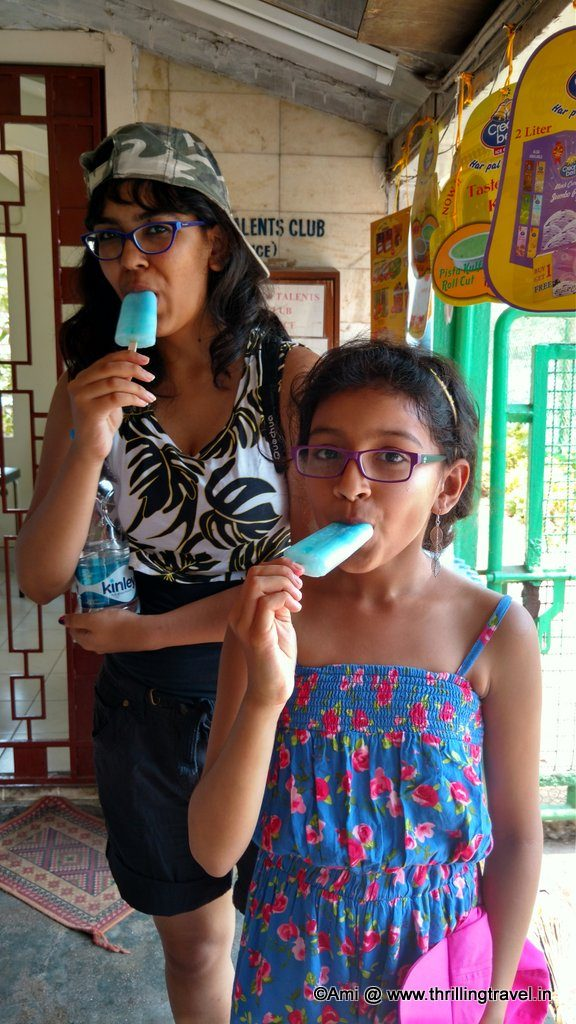 Cooling off at Gateway of India