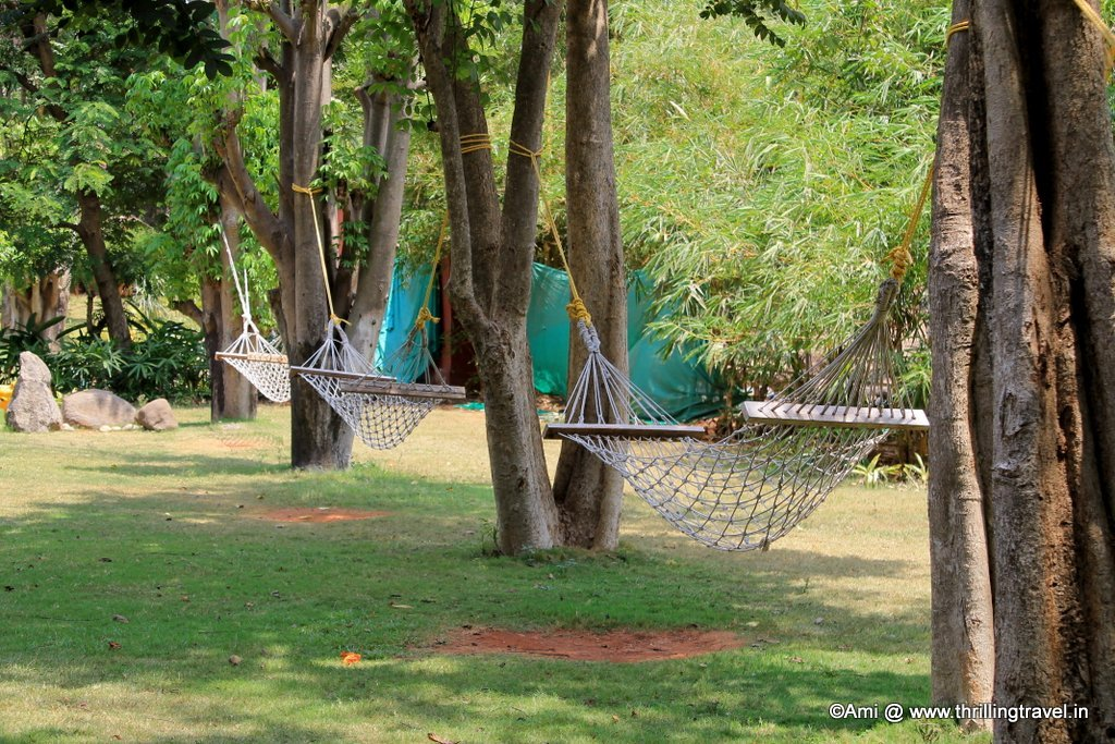Hammocks at U Tropicana, Alibaug