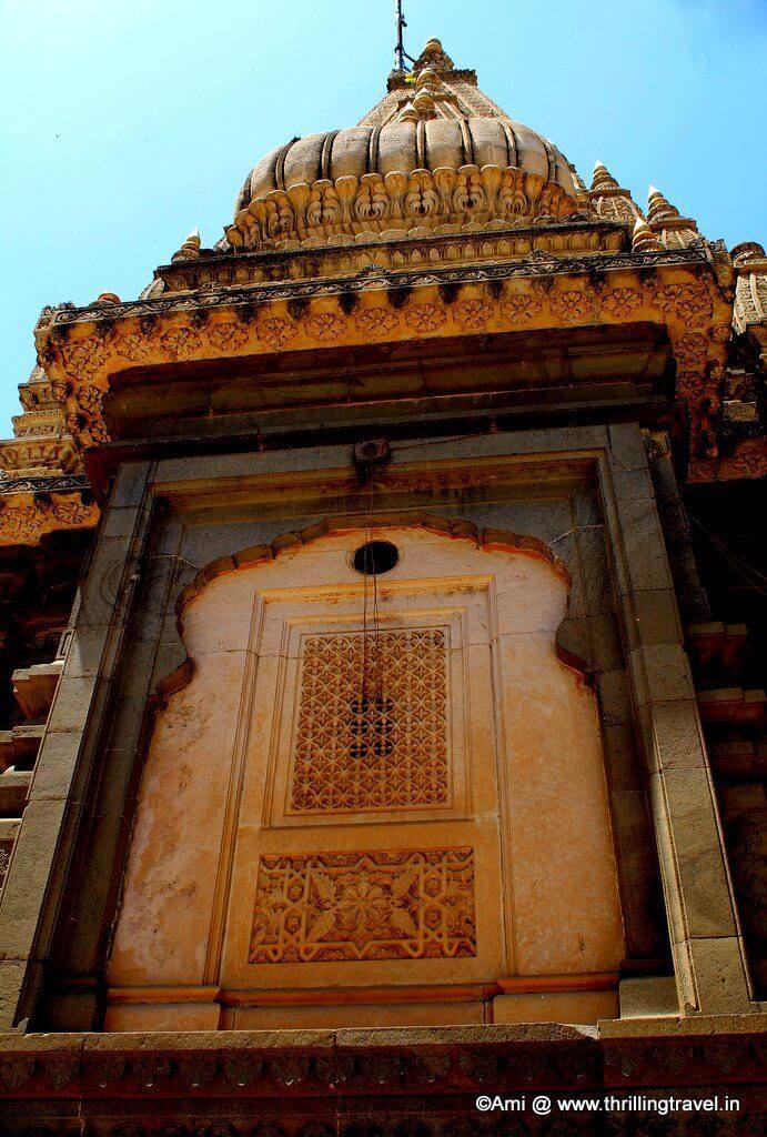 Temple at Shinde Chhatri