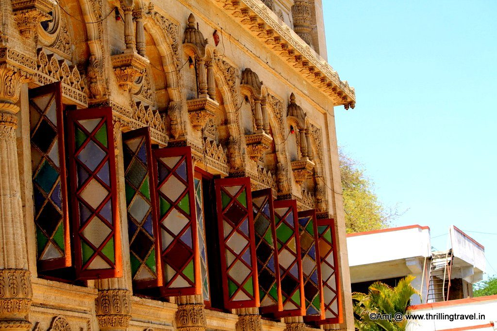 Stained Glass windows of Shinde Chhatri, Pune