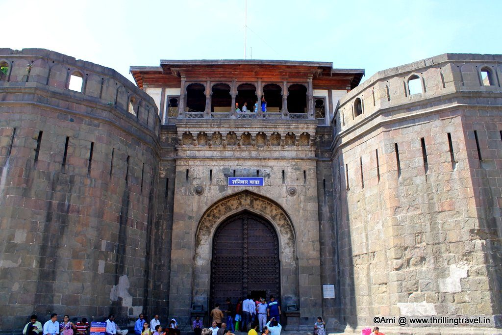 The Dilli Gate of Shaniwar Wada, Pune