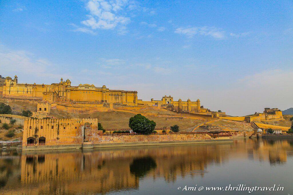 Amer - the capital of Kachwahas before Jaipur