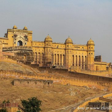 My lovely yet incomplete tour of Amer fort, Jaipur