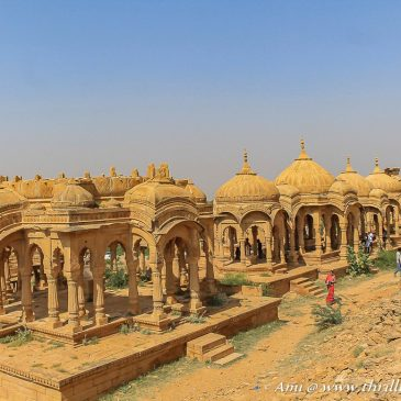 The Royal Cenotaphs of Bada Bagh, Jaisalmer