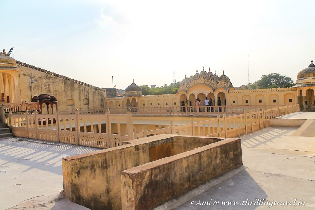 Open Courtyards of Ratan Mandir - level two of the HawaMahal
