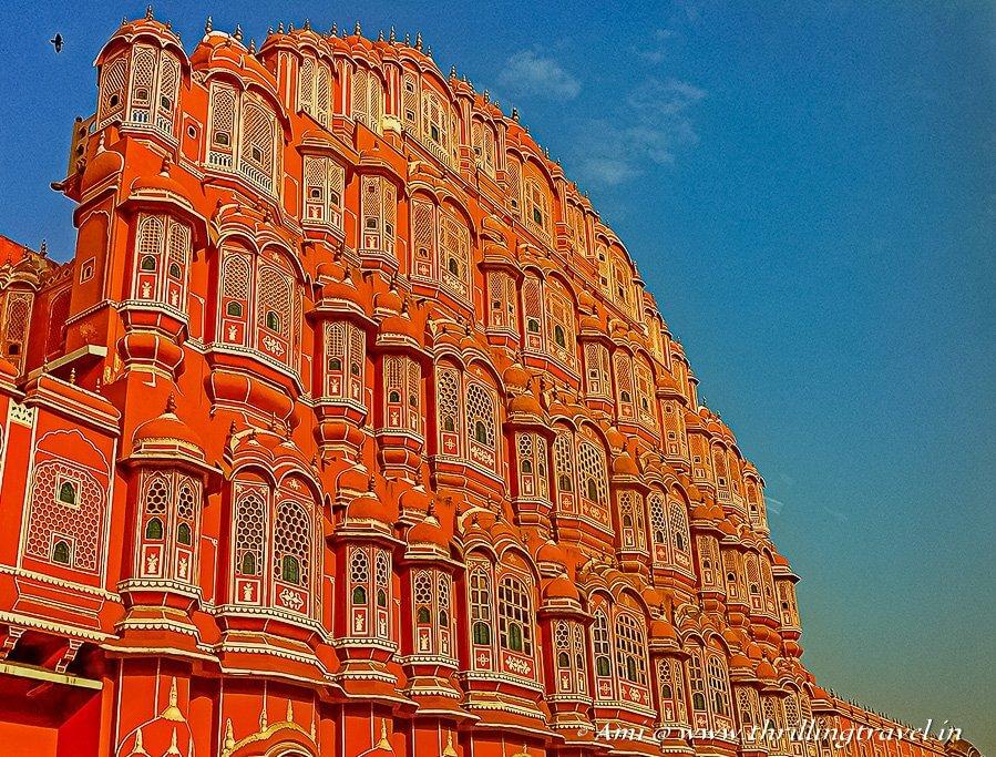 Hawa Mahal - A larger part of the City Palace Jaipur