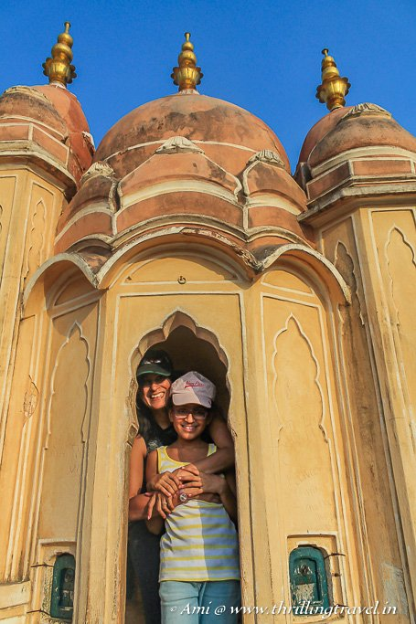 At the Hawa Mandir - the level that gave the name to the entire palace.