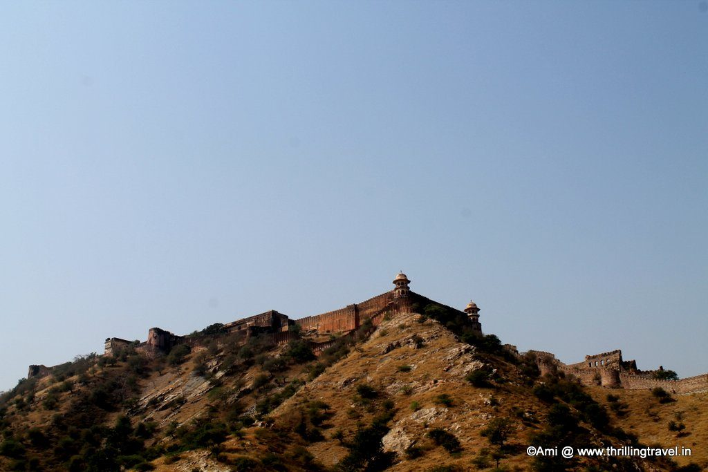Jaigarh Fort as seen from Amer Fort