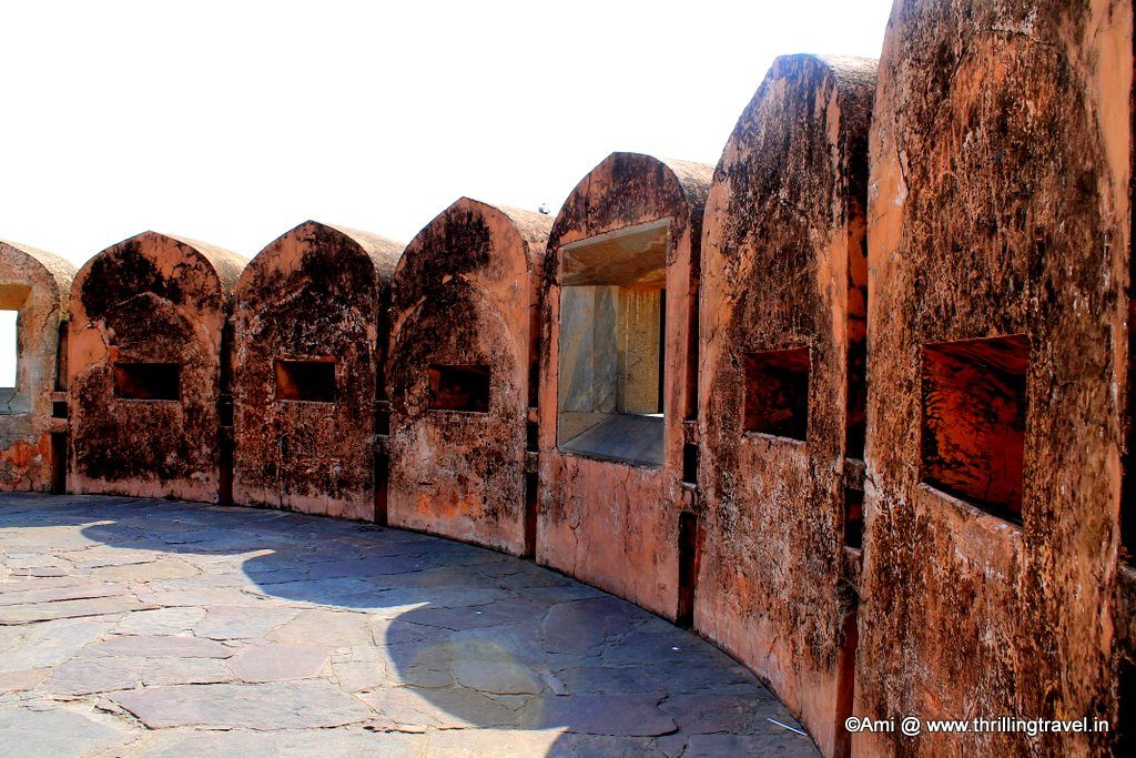 Walls of Jaigarh Fort