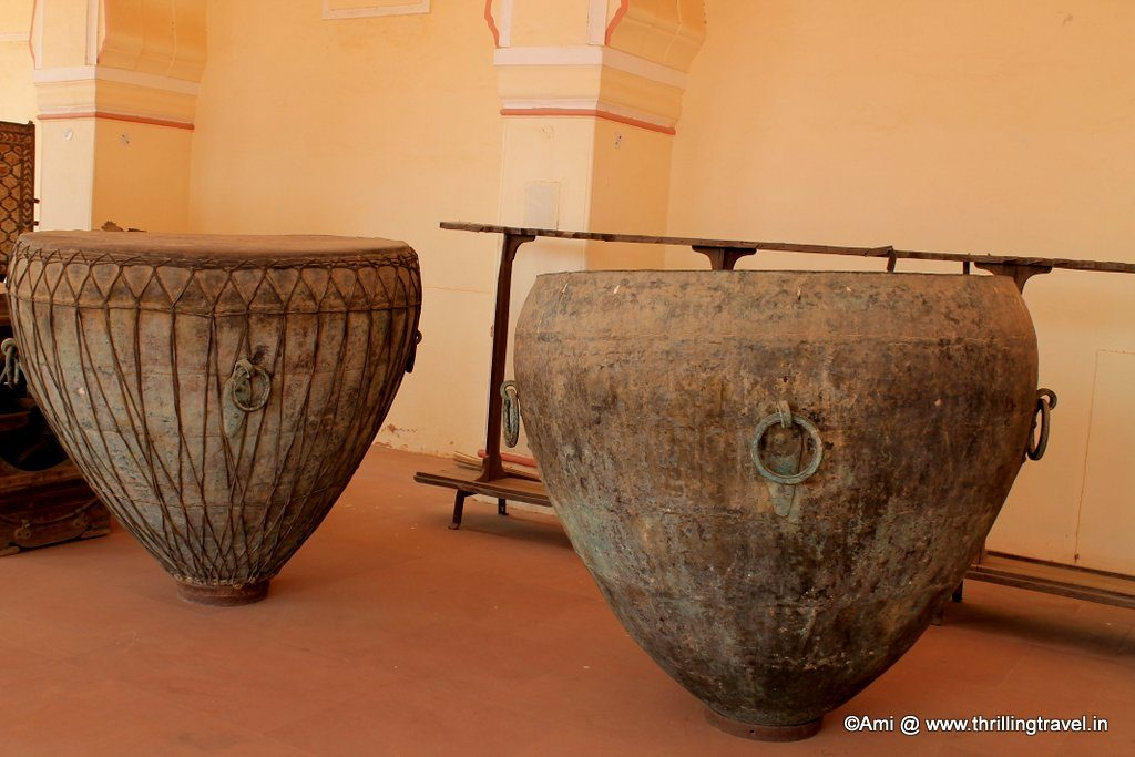 War Drums at Subhat Niwas , Jaigarh Fort, Jaipur