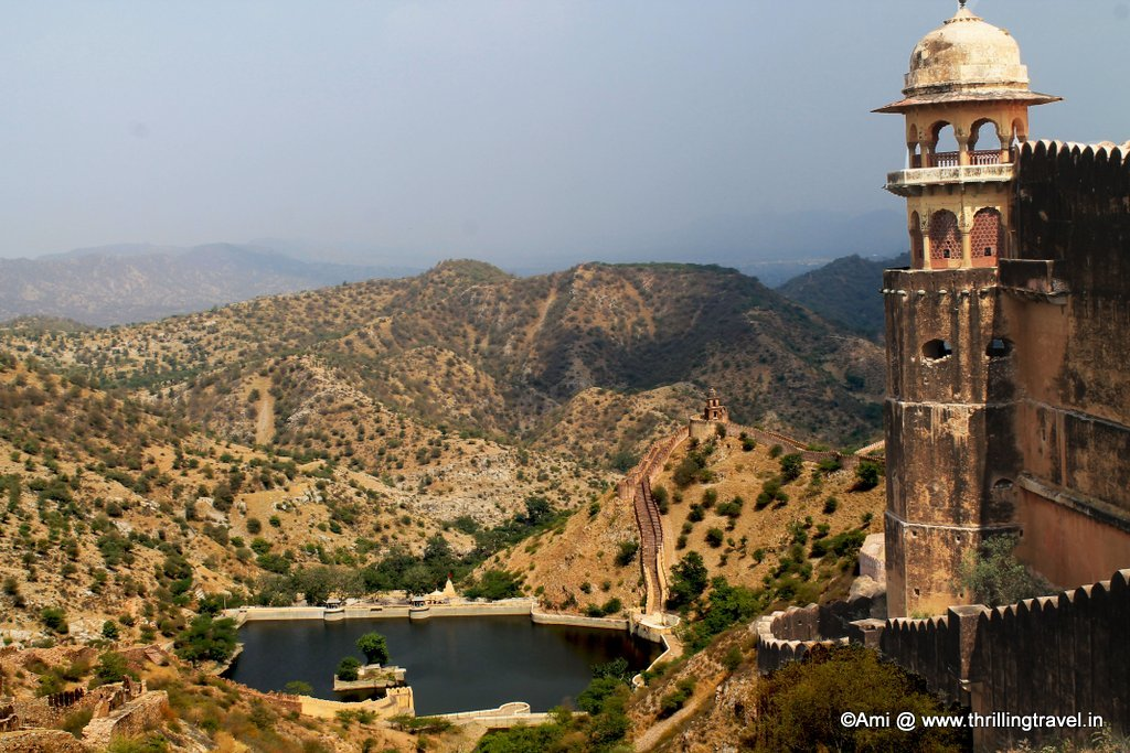 View of Sagar Lake, Jaigarh Fort