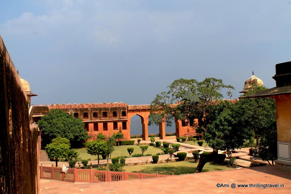 Aaram Bagh at Jaigarh Fort, Jaipur