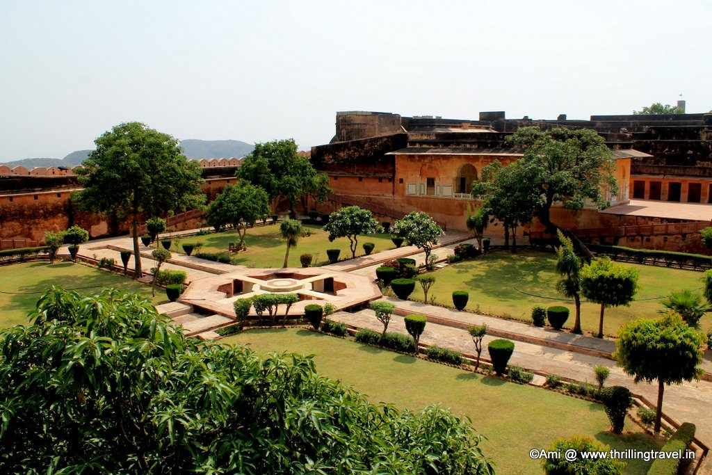 Aaram Bagh at Jaigarh Fort, Jaipir