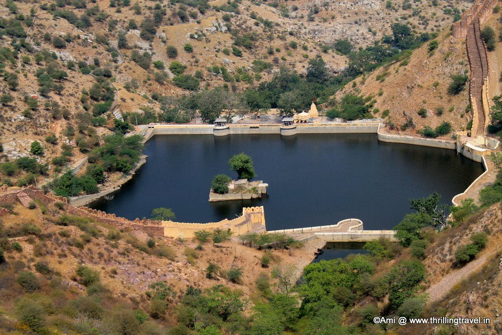 Sagar Lake from Jaigarh Fort
