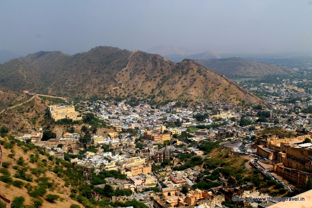 Amer Town from Jaigarh Fort