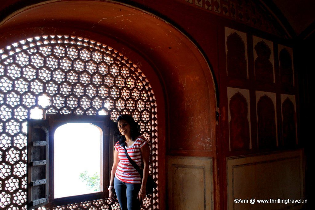 Me at the Vilas Mandir, Jaigarh Fort, Jaipur