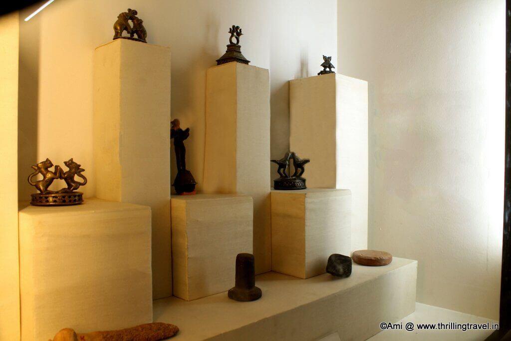 Vajris on display at Kelkar Museum