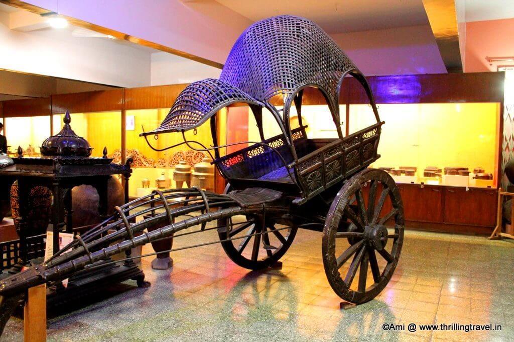 Cart at Kelkar Museum