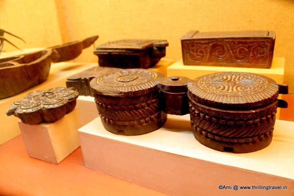 Spice Boxes at Kelkar Museum