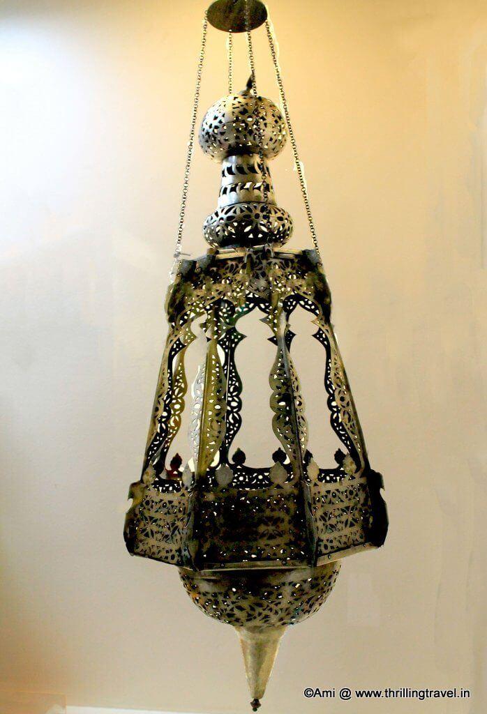 Hanging Lamp at Kelkar Museum