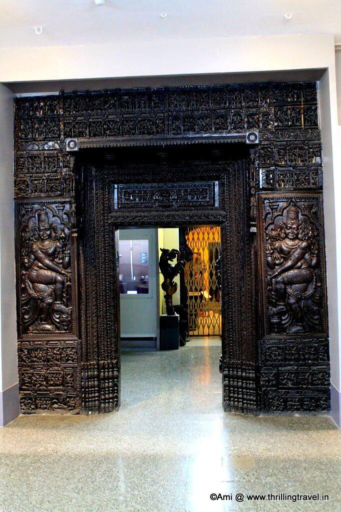 Exquisite Doorways displayed at Kelkar Museum
