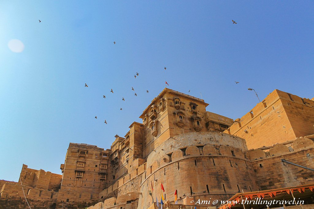 The topmost of Jaisalmer attractions - Golden Fort