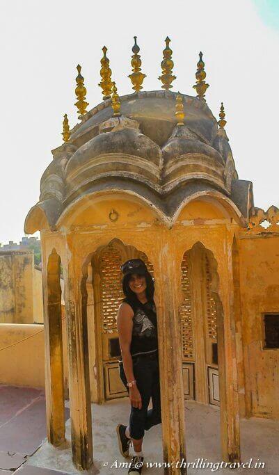 On Prakash Mandir - Level of Light in the Hawa Mahal