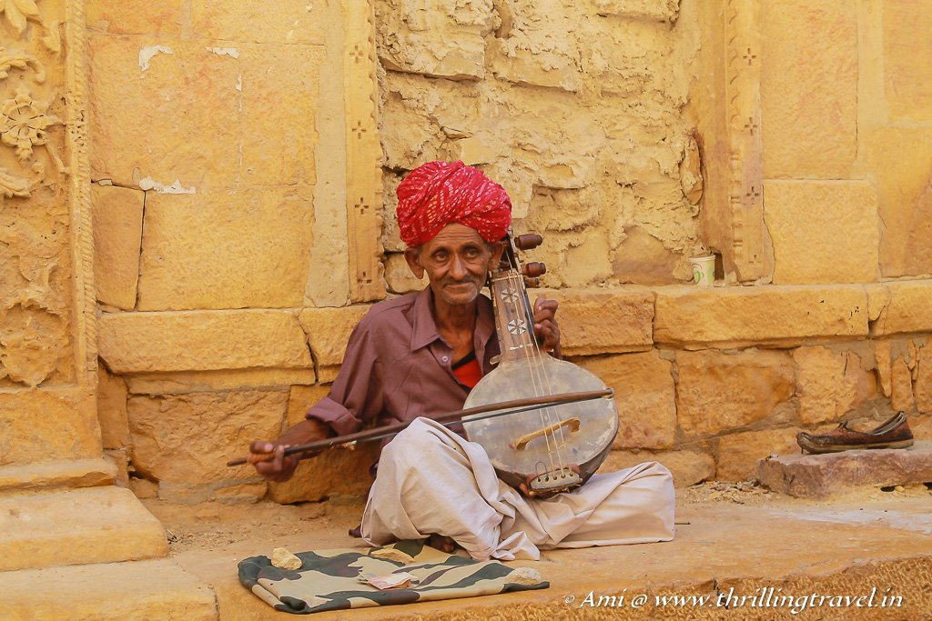 Rajasthani Music on the Streets of Jaisalmer