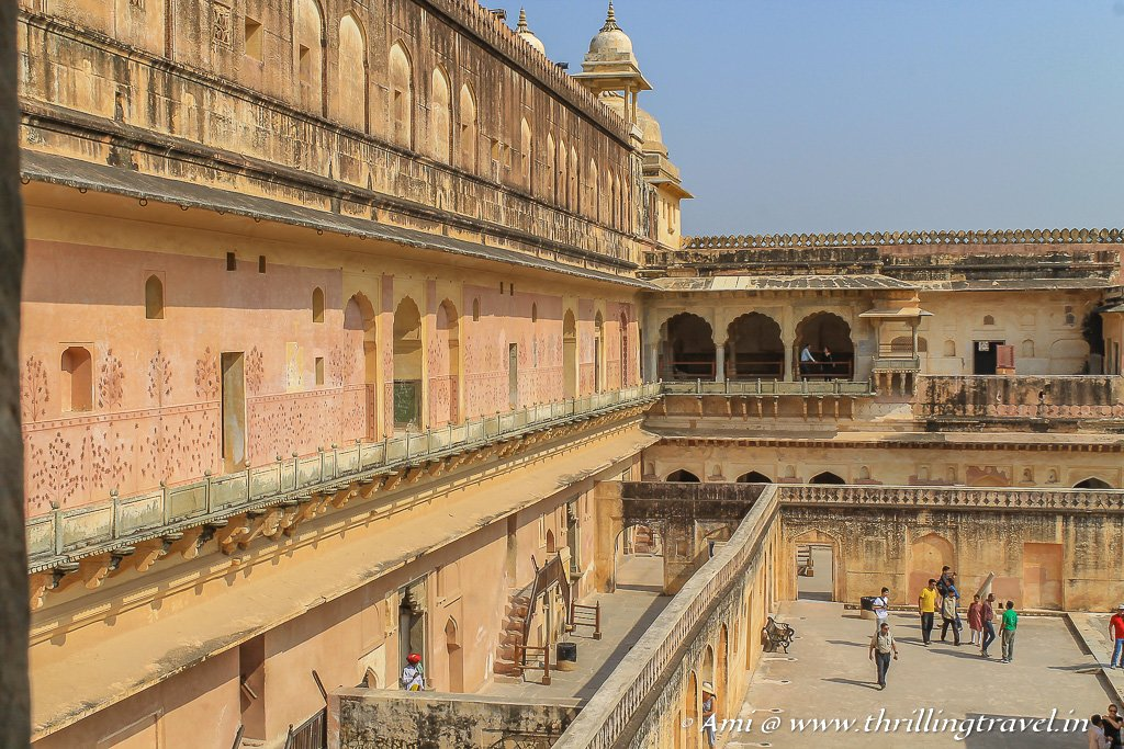 The various apartments of the Queens at the Zenana Mahal of Jaipur Amber Fort