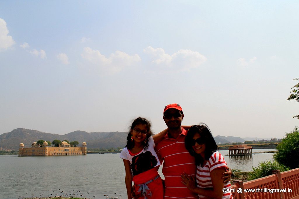 Against the Jal Mahal