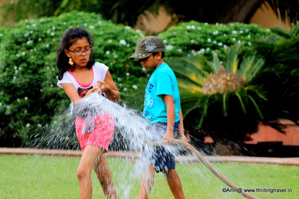Kids at Sisodia Rani Bagh