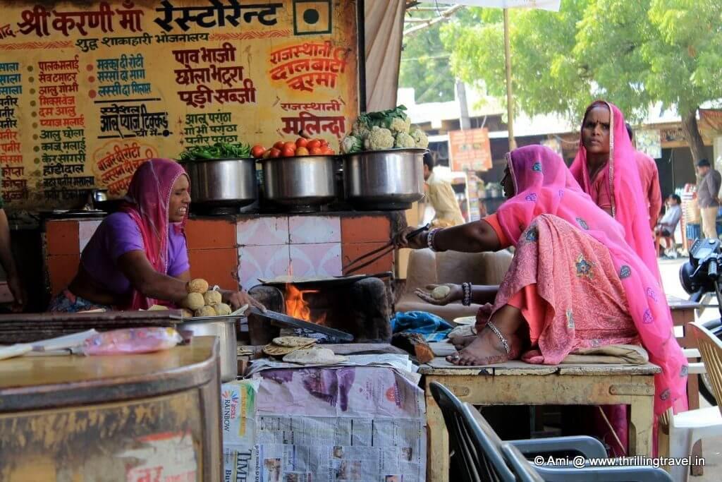 Lunch at Pushkar