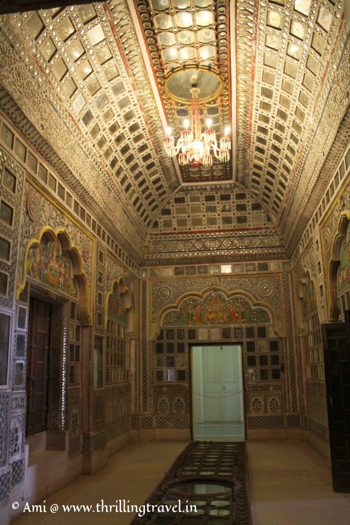 Sheesh Mahal at Mehranagarh Fort