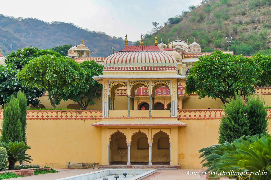 Pavilions at Sisodia Rani Bagh