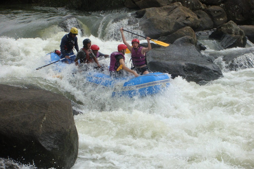 River Rafting in Coorg Image Credits: Philip Larson via Flickr, under CC by SA 2.0