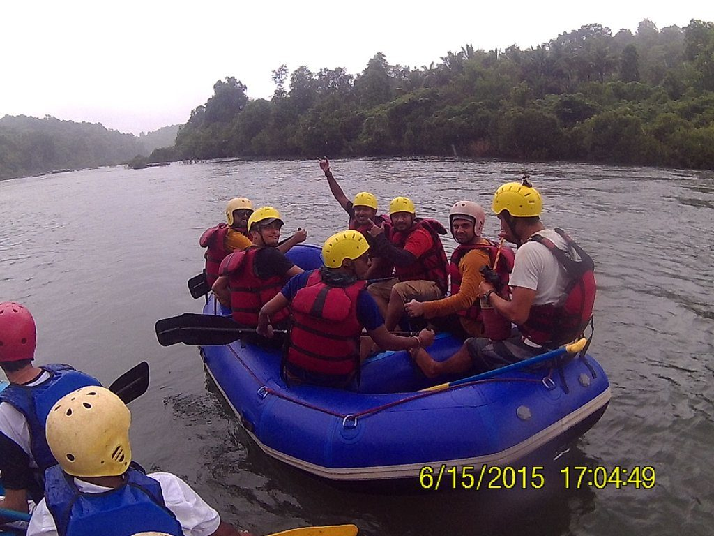 White Water Rafting in Goa