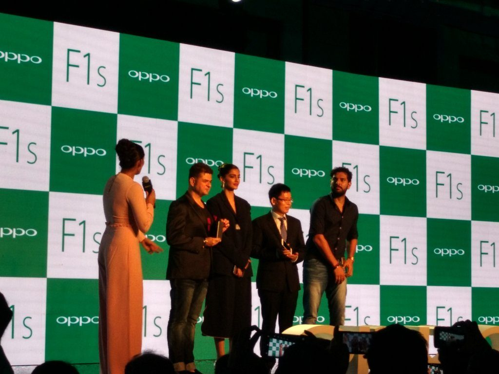 A Star- Studded OPPO F1s Launch in Mumbai