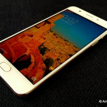 Travel with a selfie expert –  OPPO F1s