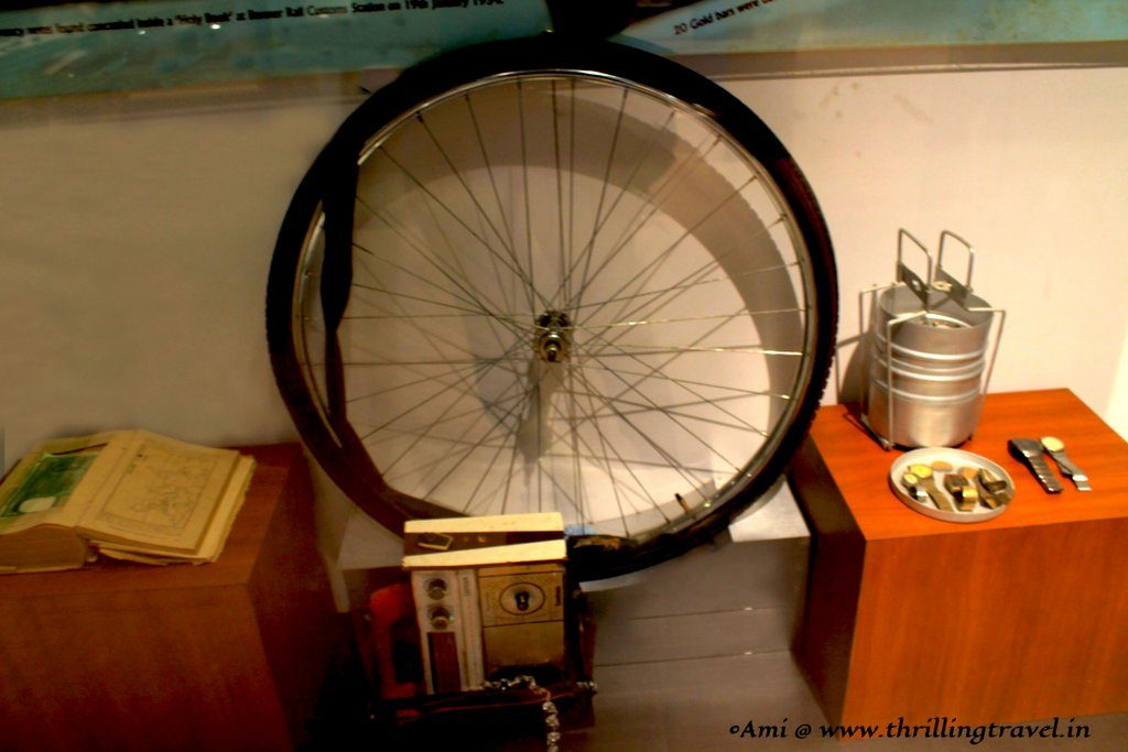 Artifacts used to cheat the customs - Indian Customs and Central Excise Museum