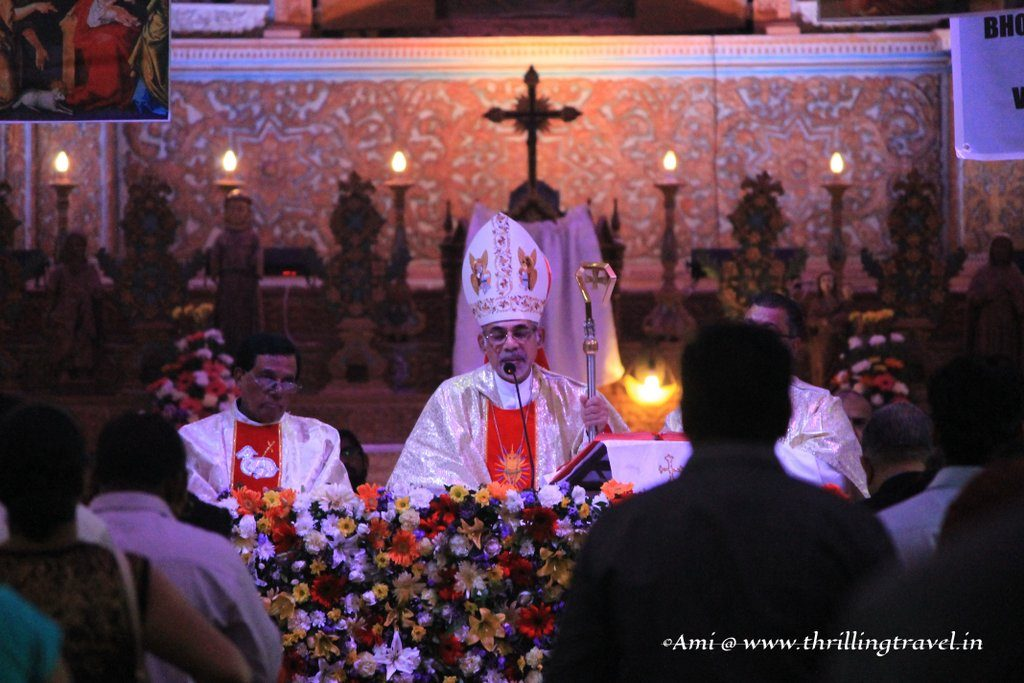 Touxeachem Festival - Mass at Santana Church