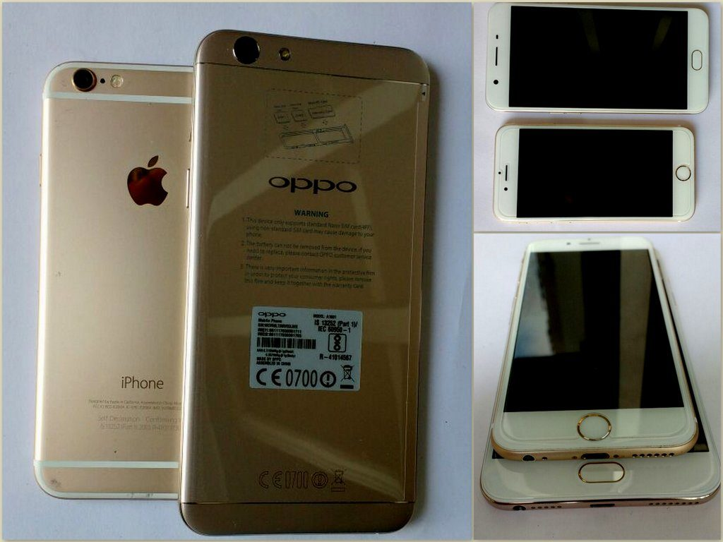 OPPO F1s Vs. iPhone 6